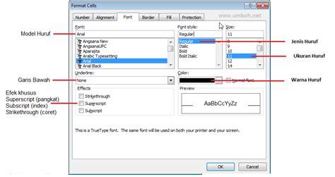 format sel adalah edit dan entri data pada excel belajar blog