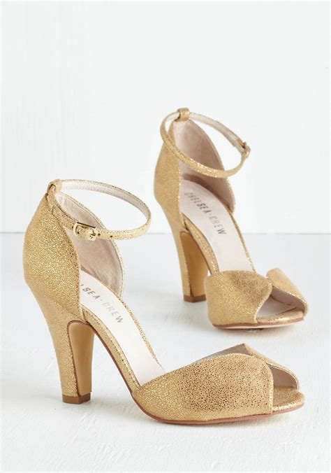 gold bridal heels dining heel in gold by chelsea crew gold solid