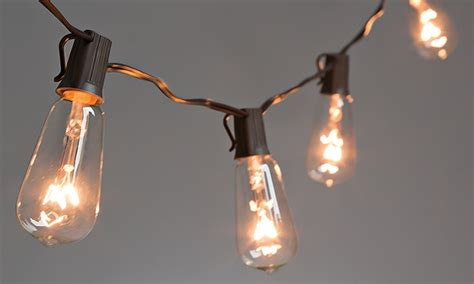 Everlasting Glow Patio Lights Groupon Goods Everlasting Glow Led Light Strings