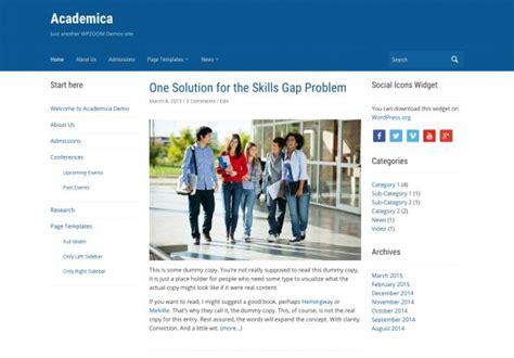 membuat website untuk sekolah gratis 9 theme wordpress untuk website sekolah