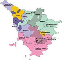 uffici regione toscana diocesi italiane suddivise per province ecclesiastiche
