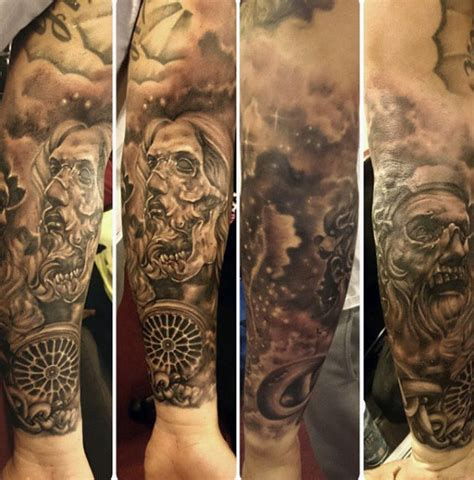 chain tattoos for men 40 chain tattoos for manly designs linked in strength
