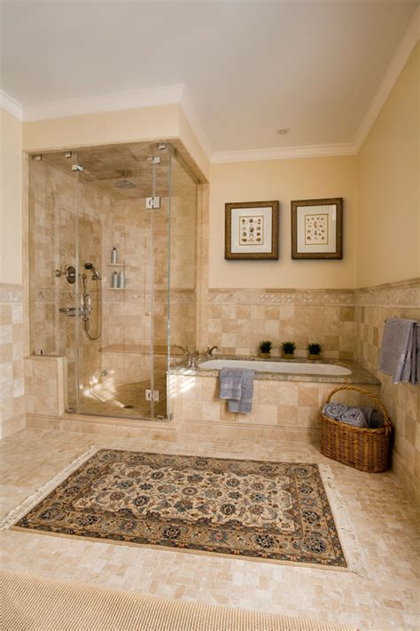 bathroom with separate shower and bathtub impressive wall candle sconces in bathroom traditional with thermasol steam shower