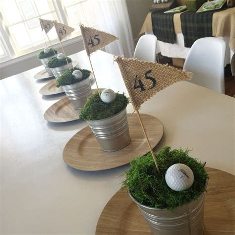 golf themed decorating ideas 25 unique golf centerpieces ideas on golf