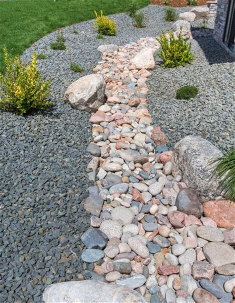 how to build a dry creek bed dry stream beds for drainage how to build a dry creek bed in the landscape