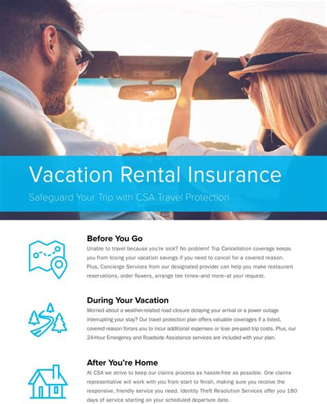 vacation rental home insurance trip insurance cape rentals atlantic vacation homes
