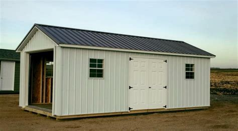 Metal Shed Sale by Ranch Style Metal Sheds High Quality Storage Buildings W Metal Siding