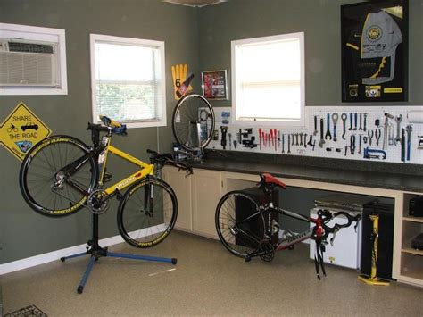 marc s quality cycle works home workshop and basement