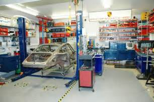 Garage Shop Design Ideas Proper Working Garage Not A Showcase Garage S