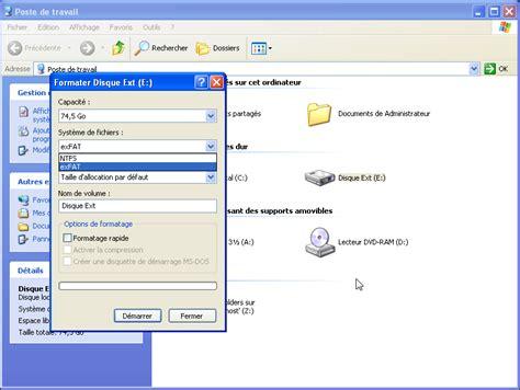format exfat là gì lire les disque durs exfat sur windows xp my disk manager