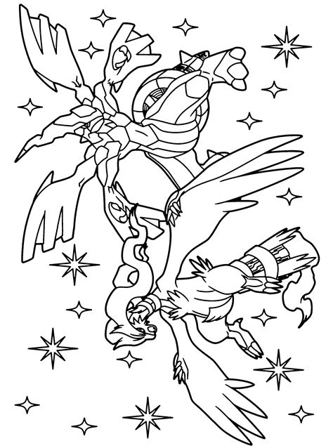 pokemon coloring pages black and white zekrom pokemon paradijs kleurplaat reshiram en zekrom