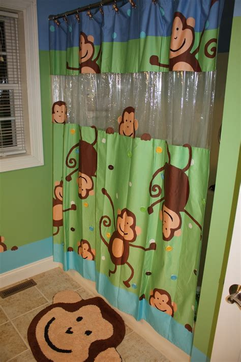 circo monkey shower curtain the curtain the bathroom was based on stephen smith