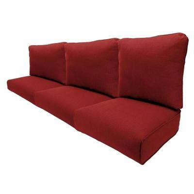 sofa cushion replacements hton bay woodbury dragon fruit replacement outdoor sofa