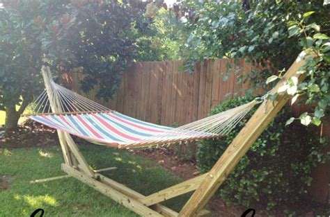 Cedar Hammock Stand 15 diy hammock stand to build this summer home and