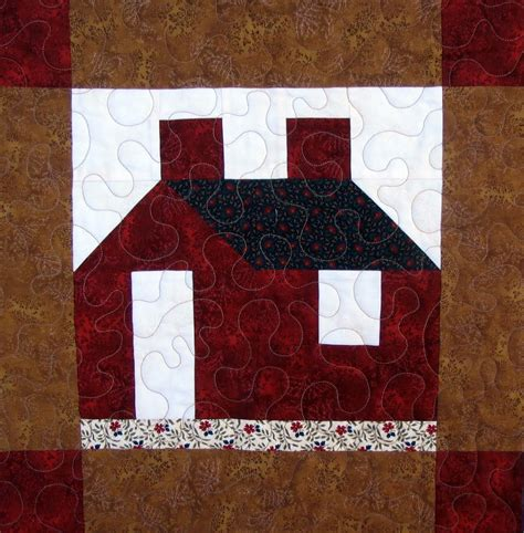 Quilt Block by Starwood Quilter Schoolhouse Quilt Block