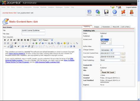 joomla design editor 10 free joomla wysiwyg editor extensions