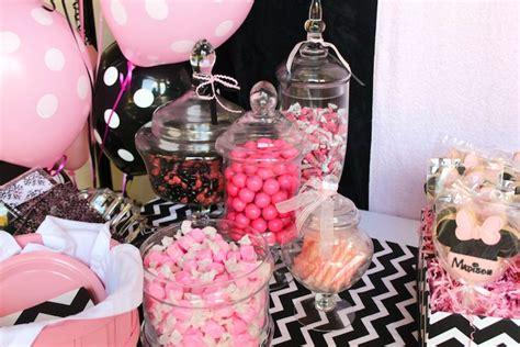 Uniea Original Dot For 3rd 4th Pink kara s ideas minnie mouse themed birthday via