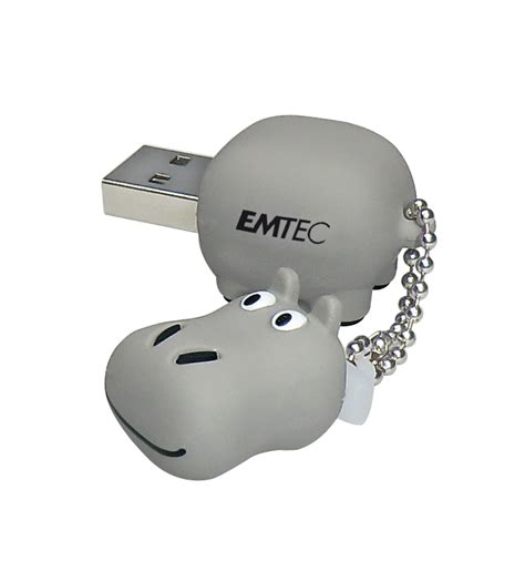 Usb Hippo emtec will showcase popular animal flash drives at ces