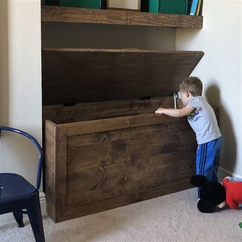 easy diy toy box frills drills