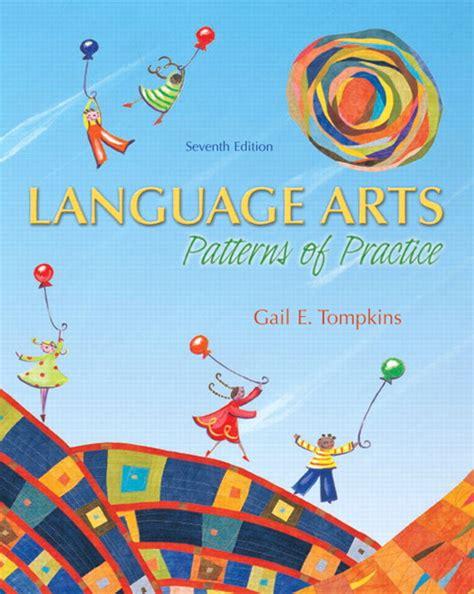 pattern drills in language teaching tompkins language arts patterns of practice pearson