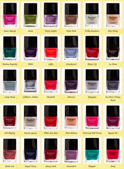 butter london nail polish colors 27 best images about butter london nail polishes on