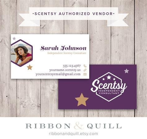 scentsy templates for business cards authorized scentsy vendor scentsy stars photo business