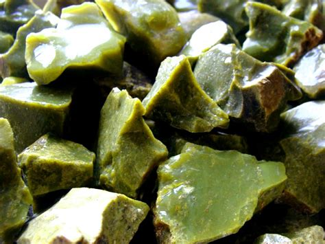 green opal rock apple green opal rock for tumbling polishing
