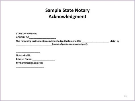 notary signature template notary signature format letter and format corner