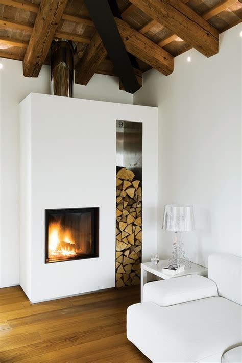 A Fireplace Store by Tv Log Storage Silver Spray