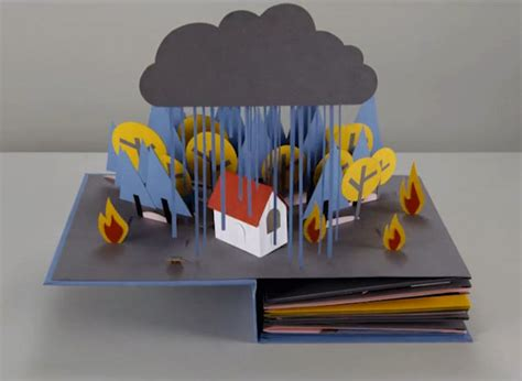 pictures of pop up books pop up book stop motion animation senses lost