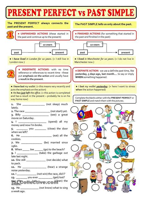 pattern of simple present perfect tense 1000 images about improve your english on pinterest