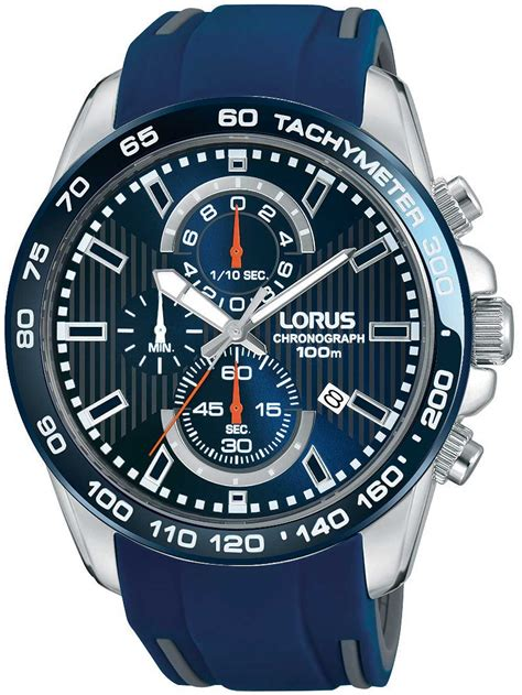 Watches   Chrono12   Lorus RM389CX9 Chronograph 45mm 10ATM