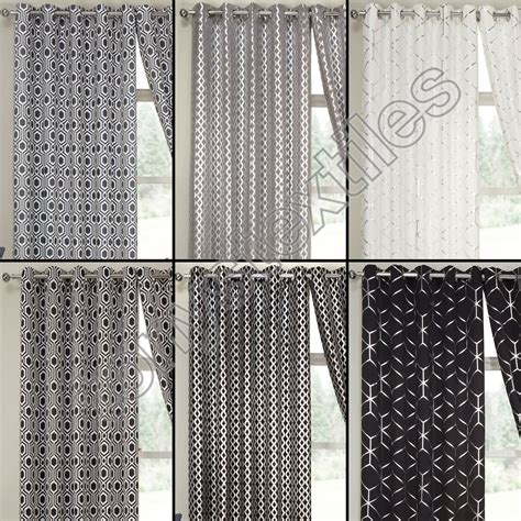 black and white ready made curtains black and white thermal curtains themed curtains black