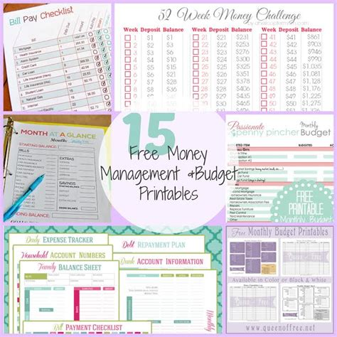printable money management games for adults 15 free money management budget printables