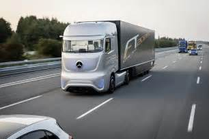Mercedes Truck And Mercedes Unveils Future Truck 2025