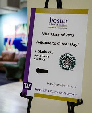 Starbucks Mba Internships by Get Started Early On Career Management Foster