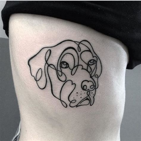 simple dog tattoo designs