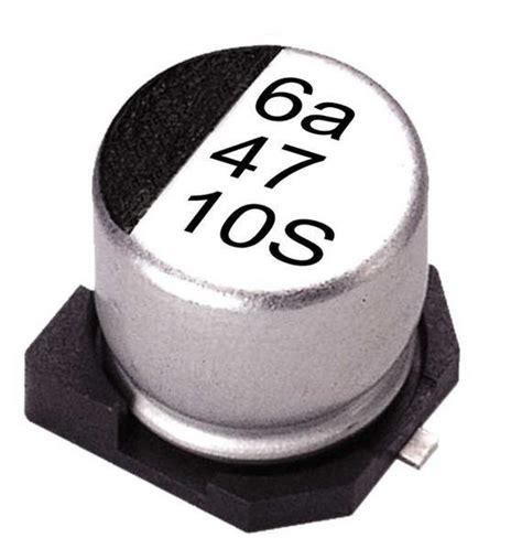 aluminium capacitor smd ves 100m1ctr 0405 lelon ves 100m1ctr 0405 datasheet