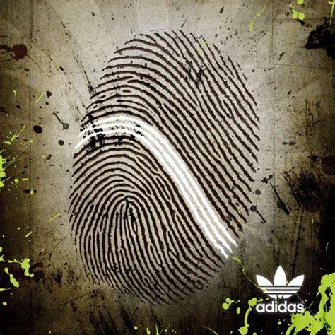 adidas print advertisement fingerprint quot ads quot fingerprints the o jays and
