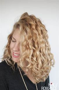 hairhair straght on back curly on top how to style curly hair for frizz free curls video