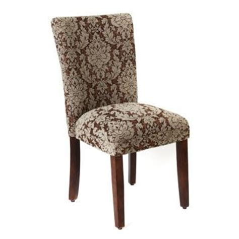 Brown Damask Parsons Chair Kirklands Decor Pinterest Kirklands Dining Chairs
