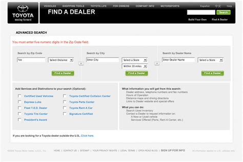 local toyota dealers toyota dealer locator html autos weblog
