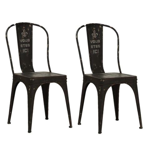 1000 ideas about black metal chairs on metal