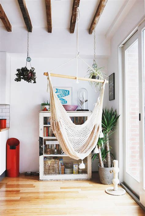 How To Hang A Hammock Chair Indoors 18 indoor hammocks to take a relaxing snooze in any time