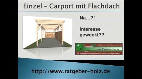 carport selberbauen carport selber bauen bauanleitung intro