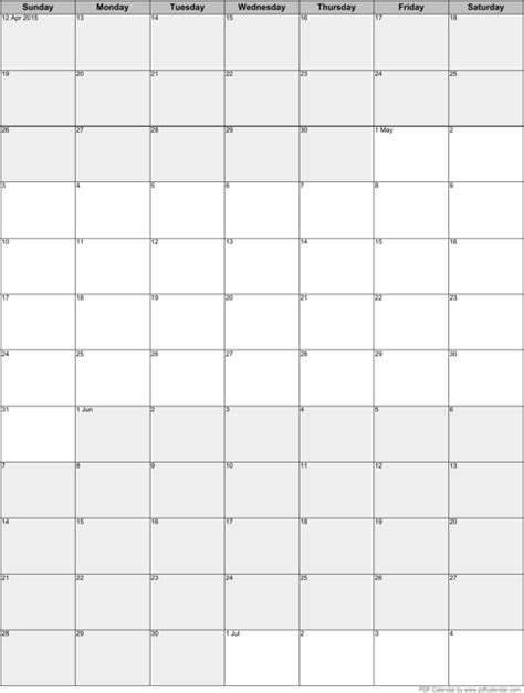 4 months per page calendar 2014 template html autos post