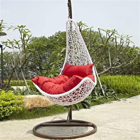 hanging porch swing canada pe rattan patio hanging swing chair wd 8008 decoraport