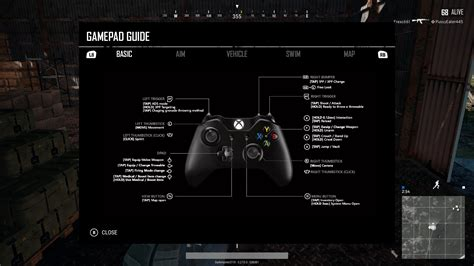 layout game html playerunknown s battlegrounds xbox one controller layout