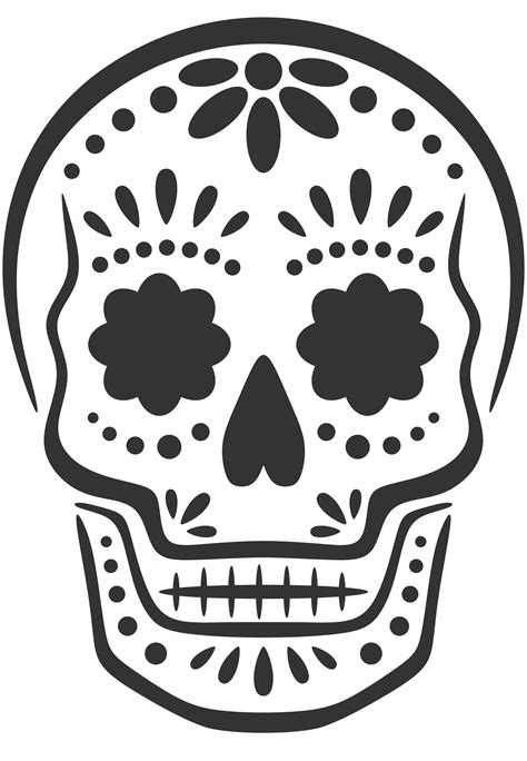 day of the dead stencil www pixshark com images