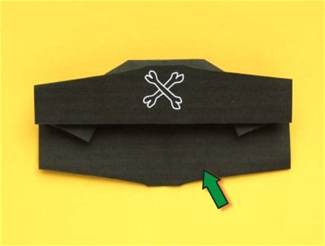 How To Make A Paper Pirate Hat - hat origami pirate 171 embroidery origami